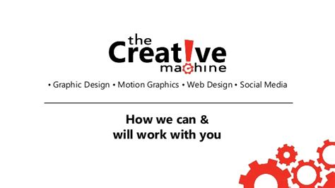machine design proposal the creative machine design portfolio proposal
