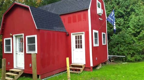 how to build a she shed 12x24 with 8x12 addition two story barn cabin man cave she
