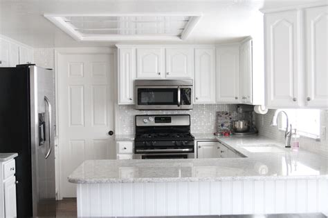 canac kitchen cabinets for sale of pearl mosaic tile backsplash canac kitchen