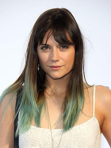 hot hues hairstyles celebrity trend rebel hair 2013 hair trend statement