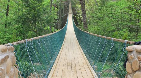 swinging bridge tennessee incredible world s scariest swinging bridges would have
