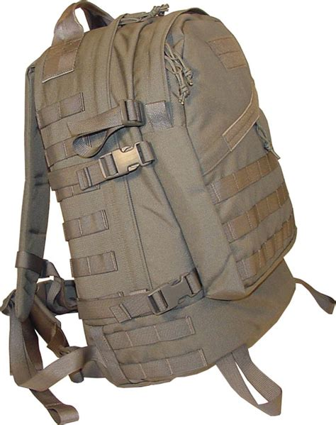 molle 3 day assault pack item 8005 made in usa back
