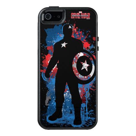 007 Captain America Iphone 55s Casecasinglogoshieldtameng captain america paint splatter silhouette otterbox iphone 5 5s se plus