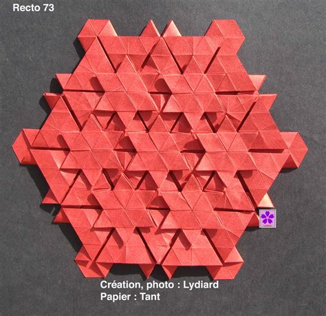 Origami Tessellation Diagrams - tessellation paper crafts and origami