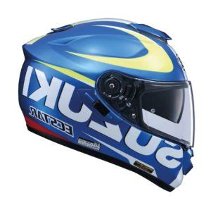 limited edition shoei gt air suzuki helmet