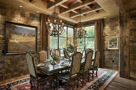 rustic dining room 15 gorgeous dining rooms with walls