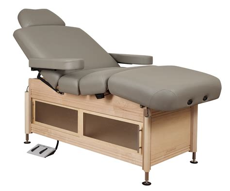 oakworks electric table clinician electric hydraulic lift assist salon top