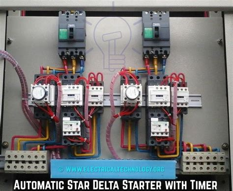 delta 3 phase motor automatic starter with timer