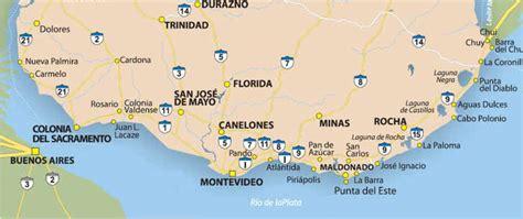 san jose uruguay map uruguay jose ignacio map