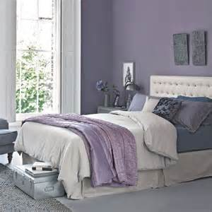 marvelous Green Colour Schemes For Bedrooms #1: lilac-and-grey-bedroom.jpg