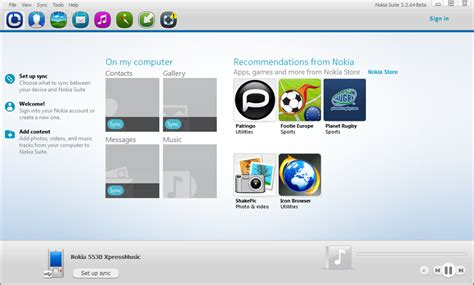 nokia pc suite download the new nokia suite 3 2 beta