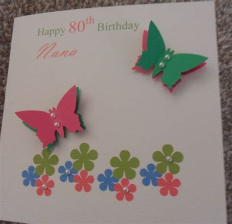 Handcrafted Birthday Cards - how to make paper flowers step by step on