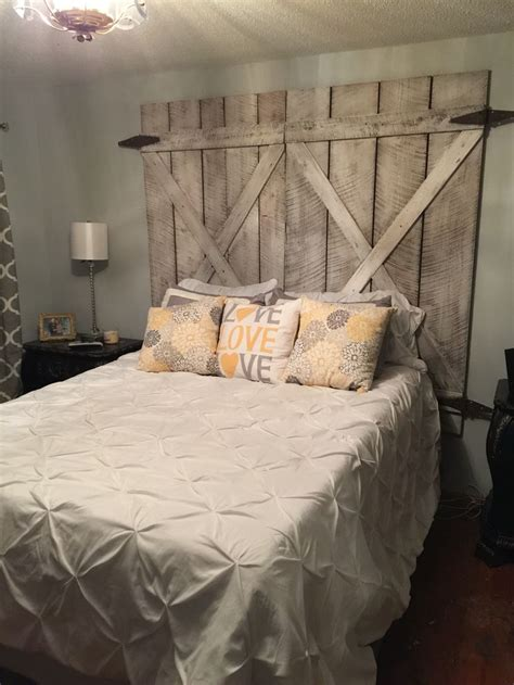 refurbished wood headboard 25 best door headboards ideas on pinterest salvaged
