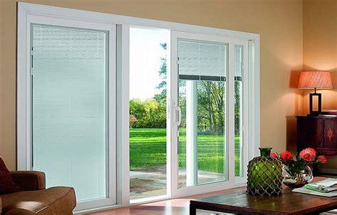 blinds in sliding glass doors sliding glass patio doors design ideas plywoodchair