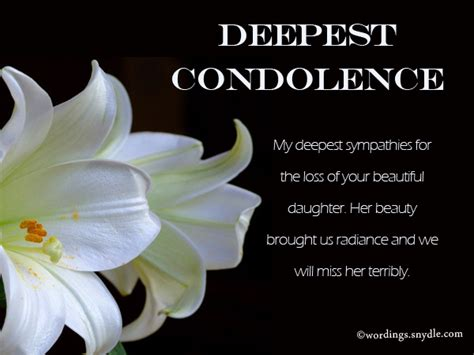 sympathy quotes for loss of showing sympathy for a loss www pixshark images