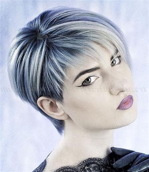 hairstyles grey hair funky 20 ideas of ladies short hairstyles with fringe