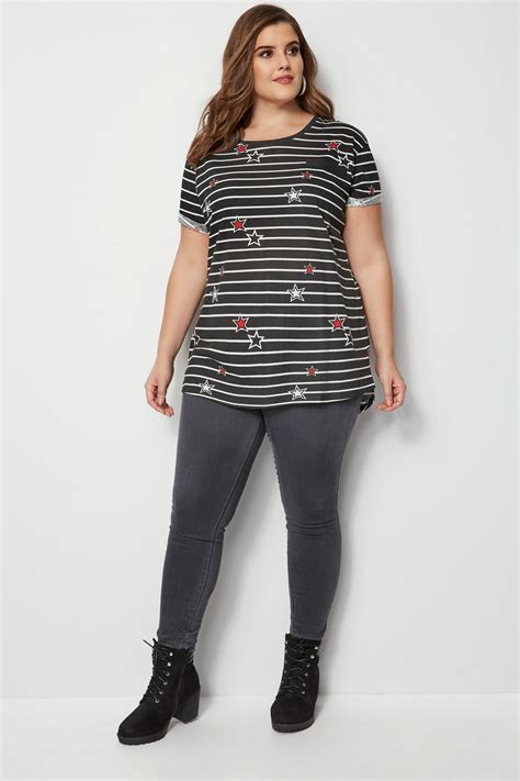 t mobile background check black stripe mock pocket t shirt plus size 16 to 36
