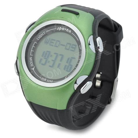 Spovan Spv900 Waterproof Fitness Pedometer Heartrate Monitor spovan spv906 waterproof fitness calories heartrate monitor green jakartanotebook