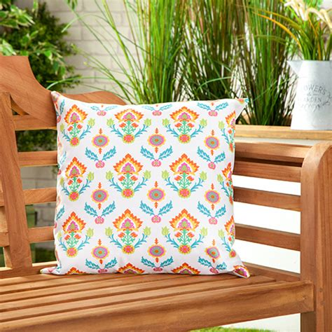 Patio Chair Cushions Water Resistant Waterproof Canvas Outdoor Cushions Water Resistant Scatter