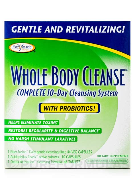 Llent Detox 10days by Whole Cleanse Complete 10 Day Cleansing System 10