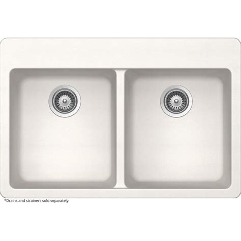 Schock Kitchen Sink Elkay Elkay By Schock Drop In Undermount Quartz Composite 33 In Basin Kitchen Sink In