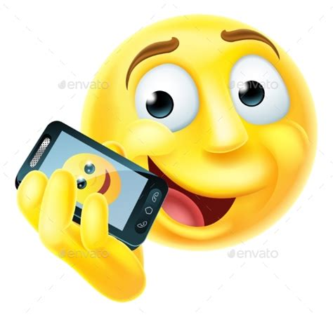 mobile emoticons mobile phone emoji emoticon by krisdog graphicriver