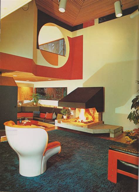 retro home interiors 70 s interior design a architect wendell h lovett 1970 me flickr