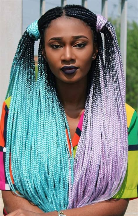 84 best box braids images on pinterest hairstyles braided