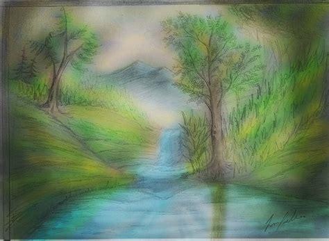 im 225 genes arte pinturas paisajes espectaculares en paisajes con agua para pintar dibujando con superposici