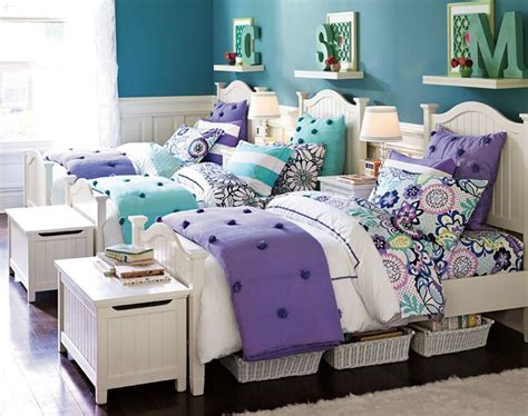 shared girls bedroom ideas cute for twins or triplets teenage girl bedroom ideas