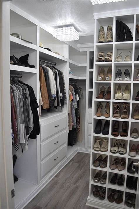small diy walk in closet makeover organized spaces pinterest design interiors walk in and