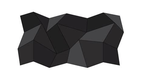 polygon pattern ai vector polygonal background illustrator tutorials