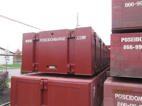Sectional Barge For Sale by Poseidon Barge P1 L Light Weight Sectional Barge Rentals