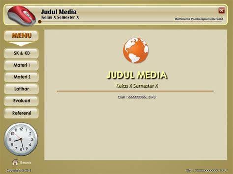desain layout media pembelajaran template media pembelajaran interaktif mpi jagonya ips