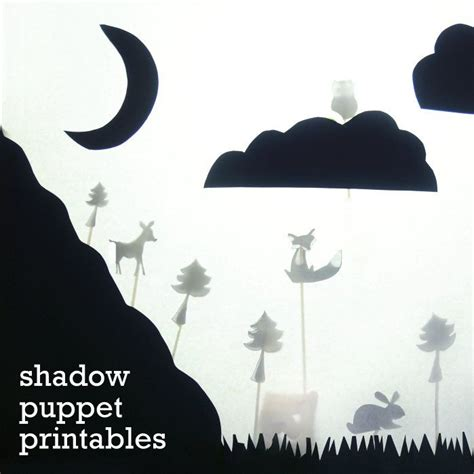 shadow puppet crafts