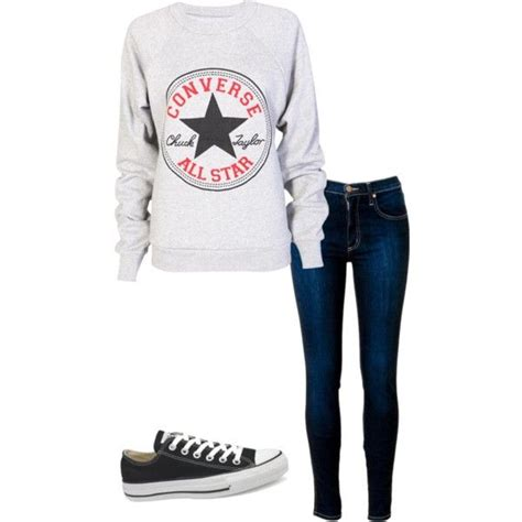 Sweater Converse converse sweater with converse shoes not so