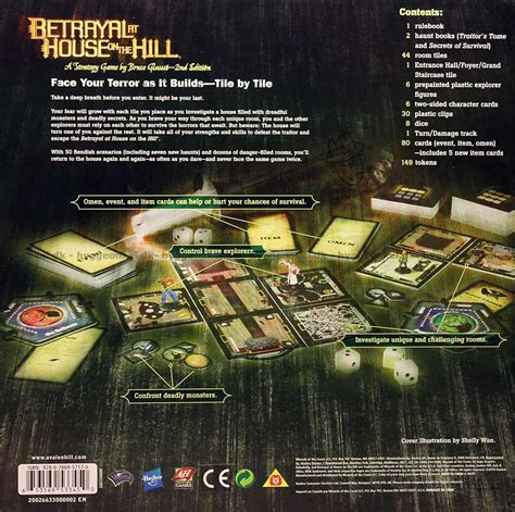 betrayal at house on the hill rules buy betrayal at house on the hill strategy game here