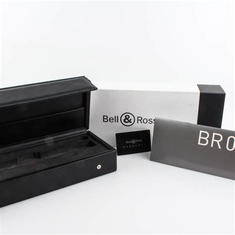 Box Bell Hk 201 pre owned bell ross br 01 heritage br01 92 sh watchbox hk