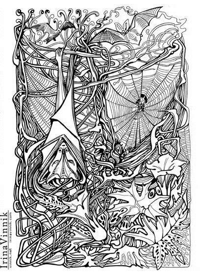 irina vinnik manic botanic coloring dibuj on manic botanic irina vinnik coloring col miss