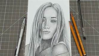 pencil drawing person beginners how to draw a person pencil portrait step by
