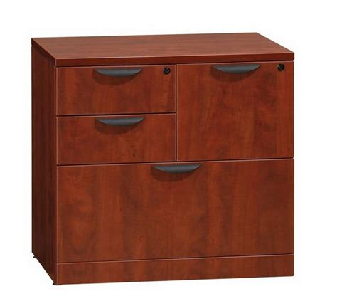 combo lateral file cabinet ndi office furniture pl114 combo file cabinet