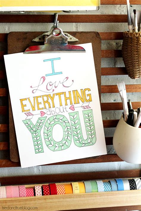 i love everything about you coloring page free printable coloring pages for adults