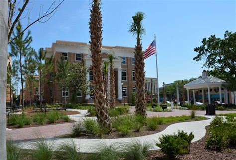 Manatee County Court House by Manatee County Historic Courthouse Landscape Lighting Improvements Jon F General
