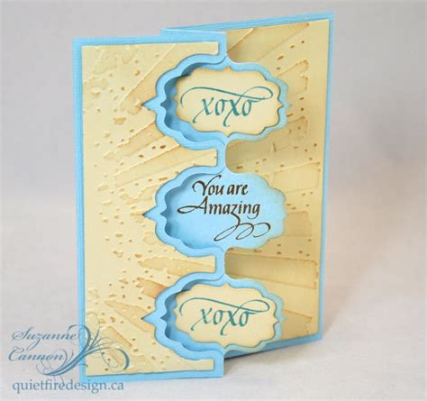 amazing cards to make you are amazing fancy fold card allfreepapercrafts