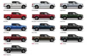 what color is a truck sneak peek ruby oxford white or blue a look