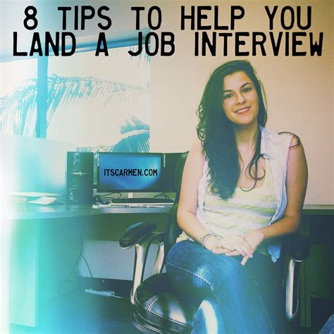 8 Tips To Help You 8 Tips To Help You Land A Varner