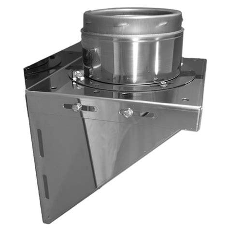 Chimney Flue Support Bracket - sflue stove flue for wood burning stoves 200mm wall
