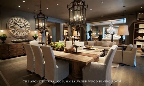 home design restoration hardware rh