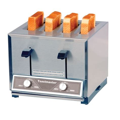 Four Slot Toaster Toastmaster Tp424 4 Slot Toaster 300 Slices Hr W 1 125