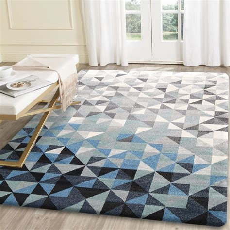 your floor and decor rugs curtains modern blue and grey geometric rug for amazing family room floor decor